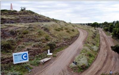 Pavimentación del acceso al Cerro de la Caballada