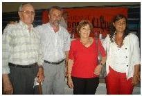 El intendente Curetti, junto a funcionarios nacionales y provinciales realizaron la entrega de subsidios