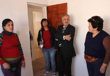 Cooperativas de mujeres alcanzaron la etapa final de cuarenta viviendas