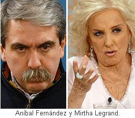 "Mirtha Legrand: ""Tengo miedo a las represalias"""