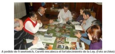 Curetti se reúne con el Consejo Regional para el Desarrollo del Sudoest Participarán representantes de los doce municipios del sudoeste bonaerense.