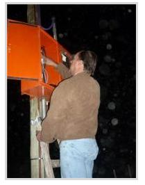 El Intendente Villemur inauguró luminarias en el acceso a Juan A. Pradere