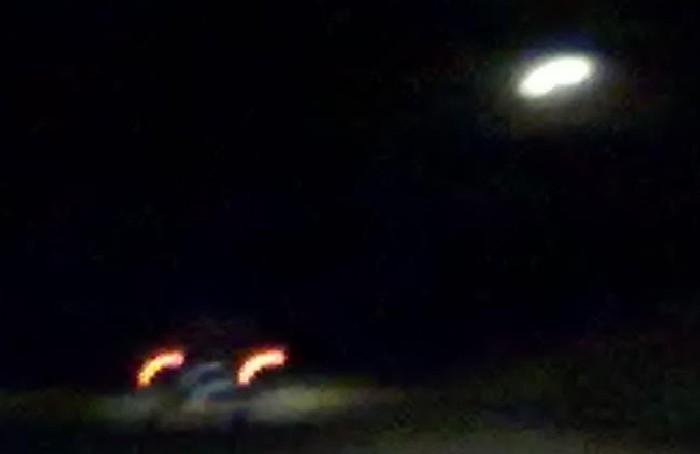 Siguen apareciendo OVNIS en la comarca serrana: ahora los vieron sobre la ruta 76