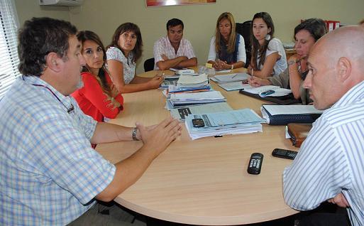 Reunión con autoridades de Viedma para coordinar trabajos sobre la prohibición del uso de bolsas de polietileno