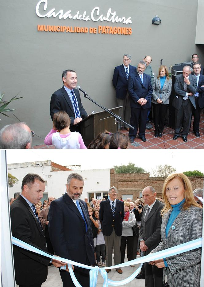 Se inauguró la Casa de la Cultura de Stroeder