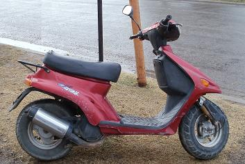 Vendo scooter Mondial 50 c.c. -Aviso Clasificado-