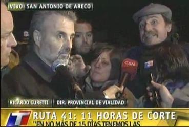 Tras la promesa de obras, levantan el corte de la ruta 41 en San Antonio de Areco