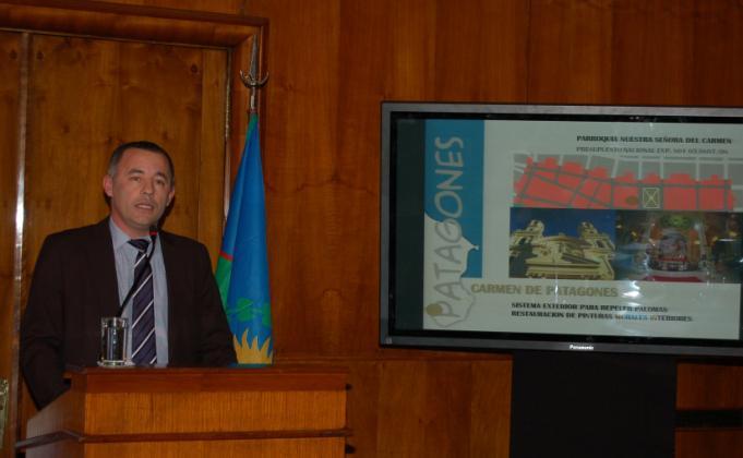 Garcés presentó un plan de obras 2012-2013 ante el ministro Julio de Vido