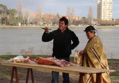 """Este sábado se emitirán el programa """"Sabor Argentina""""  que se filmó en Patagones"""