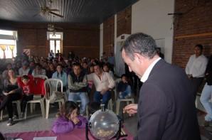 Problemática habitacional: Se sortearon 39 lotes en Villalonga