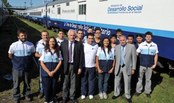 Arribará el Tren de Desarrollo Social y Sanitario al partido de Patagones