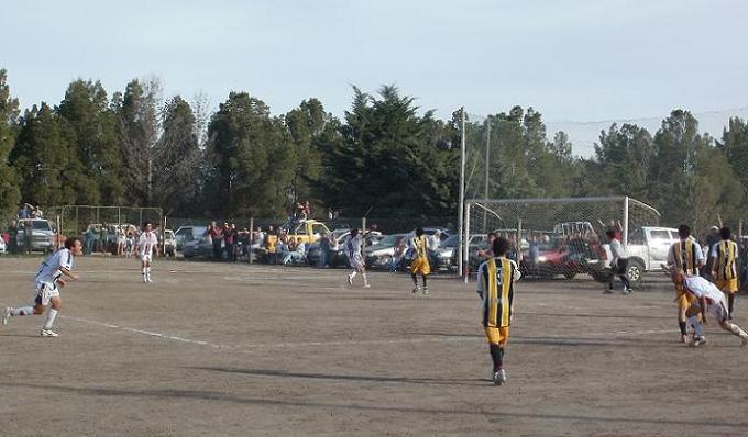 Alegría futbolística en Stroeder