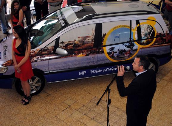 Presentan el vehículo de turismo que realizará gira promocionando Patagones por el país