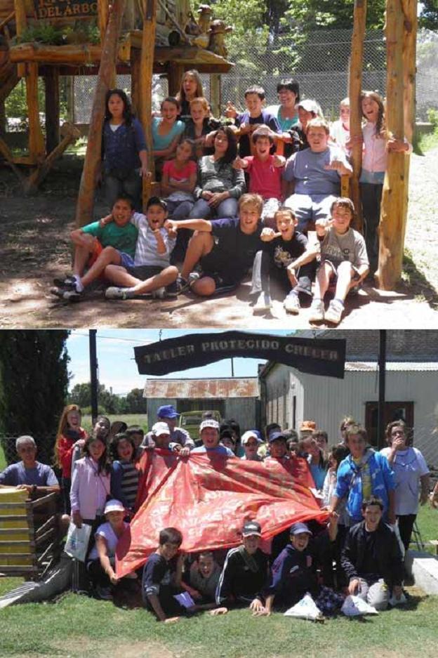 Un contingente de Stroeder visitó Puan
