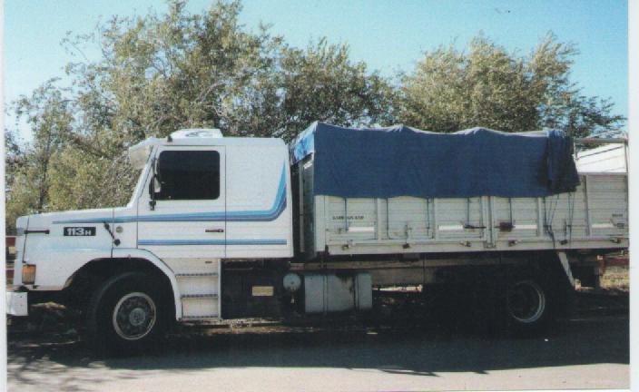 Venden camión Scania -aviso clasificado-