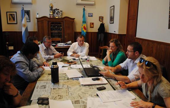 El intendente comenzó a presentar a los concejales el proyecto de modificación la Fiscal Impositiva