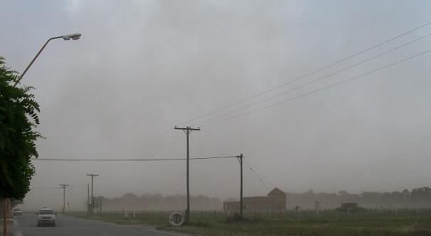 Alerta amarilla por vientos en la ruta nacional Nº 3