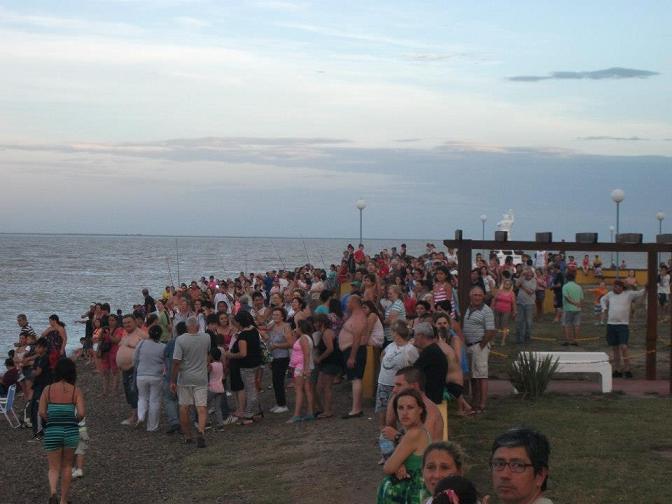 Bahía San Blas estuvo repleto durante el fin de semana