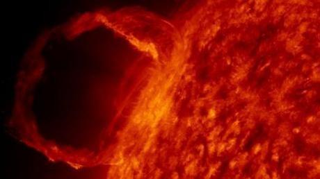 Una erupción solar podría afectar las comunicaciones en la Tierra