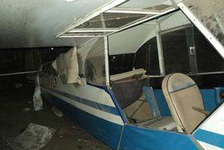 Un nuevo atentado delictivo soporto el Aeroclub de Stroeder