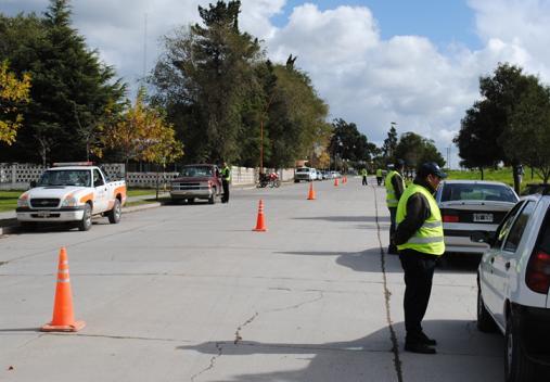 Se intensifican los controles de tránsito en Carmen de Patagones