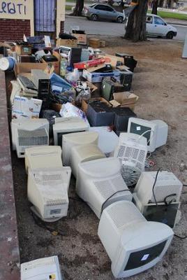 Exitosa campaña de recolección de residuos electrónicos en Patagones