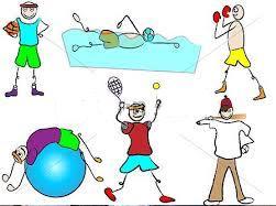 Programan actividades recreativas y deportivas para niños.