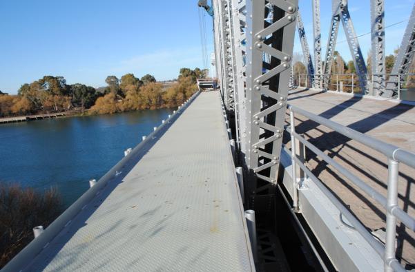 Importante avance en la obra de puesta en valor del Puente Ferrocarretero