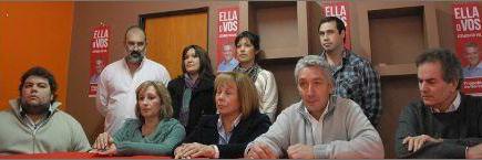 El Frente de De Narváez presentó a sus candidatos