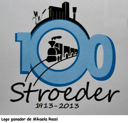 Se eligió el Logo del Centenario de Stroeder