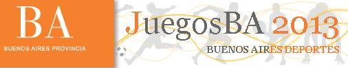 Juegos Bonaerenses 2013