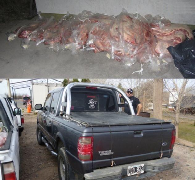Productores denuncian ingreso ilegal de carne con hueso desde el norte de la barrera