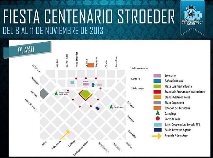 Fiesta del Centenario de Stroeder -Plano-