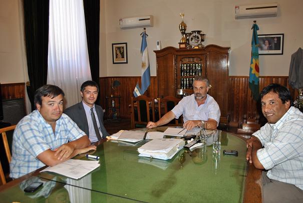 Curetti confirmó las estructuras de Gobierno y Obras Públicas
