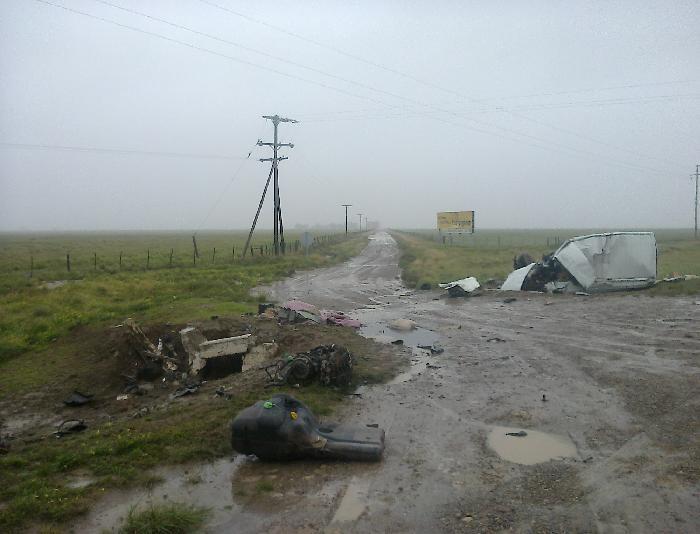 Trágico accidente en R3 KM  875