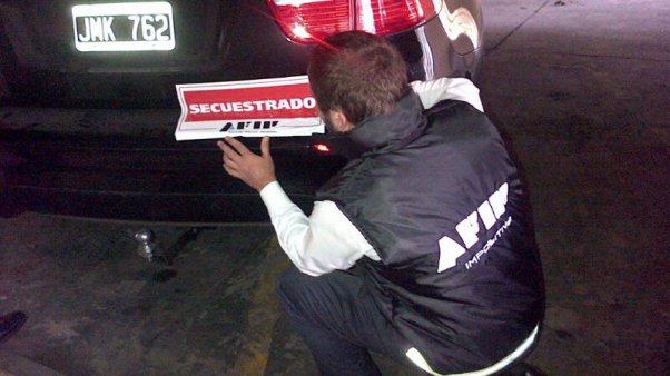 Encuentran el auto de Fariña en un operativo antidrogas
