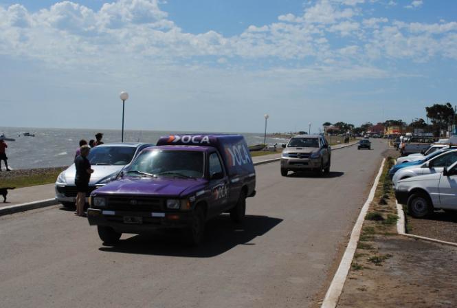 Por las intensas lluvias, el camino a Bahía San Blas no se encuentra en condiciones de transitabilidad