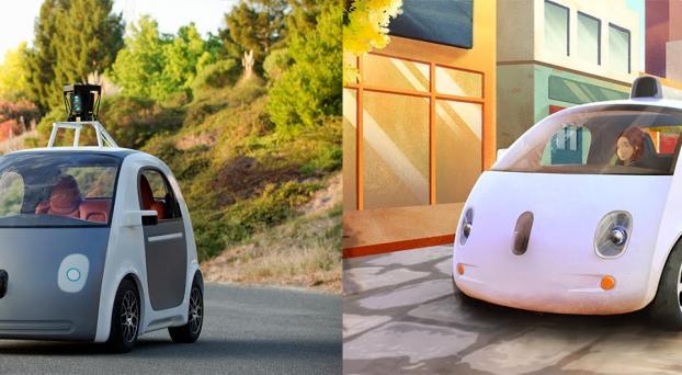 3 videos del auto de Google que no tiene volante ni pedales