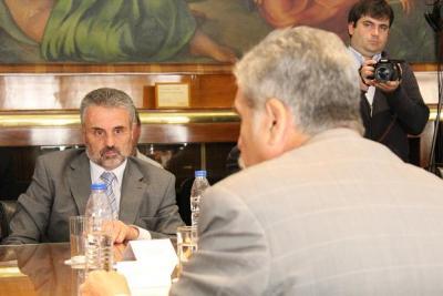Curetti sigue de cerca la obra del Gasoducto Villarino-Patagones
