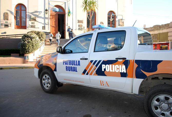 Llegó el primer vehiculo para reforzar la prevención del delito en zonas rurales