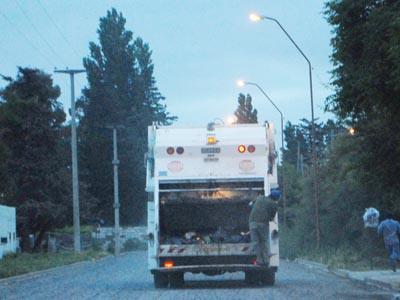 Lunes 18 sin recolección de residuos en Stroeder